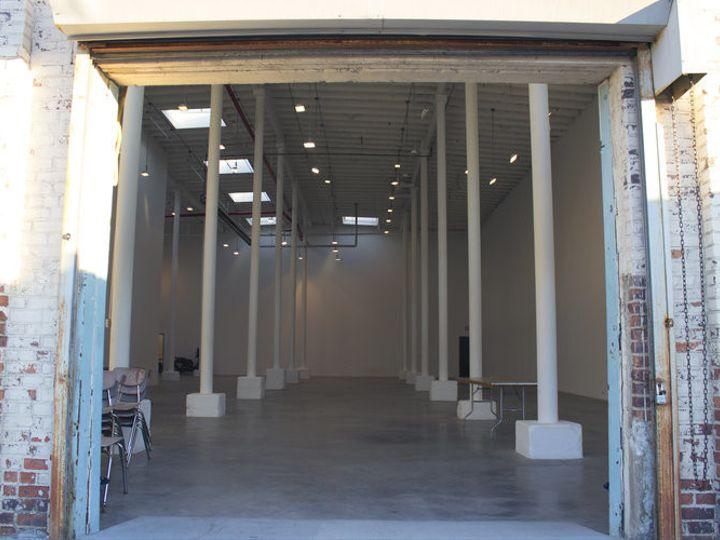 Tmx 1505522349811 17 Main Hall Thru Open Garage Door Veselko Buntic Long Island City, NY wedding venue