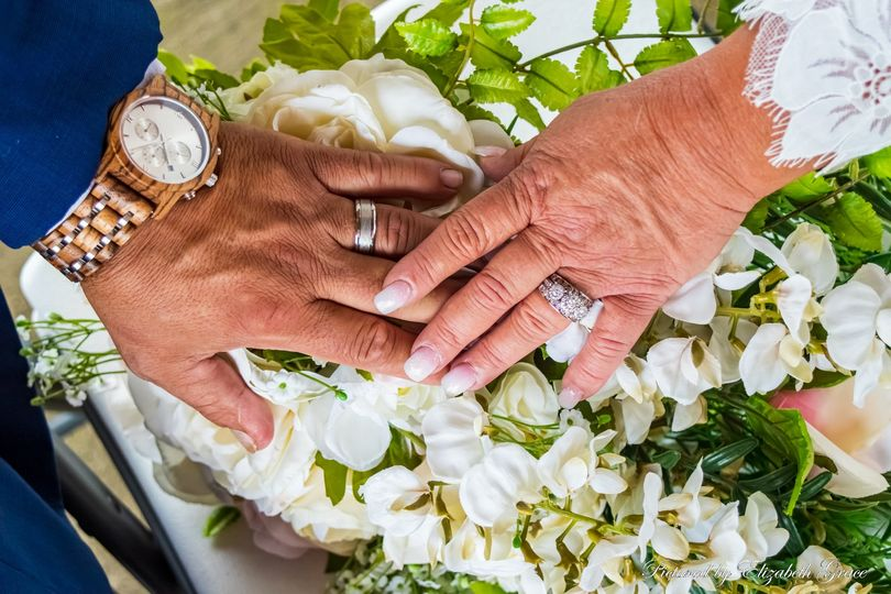 Jewelry and Bouquet