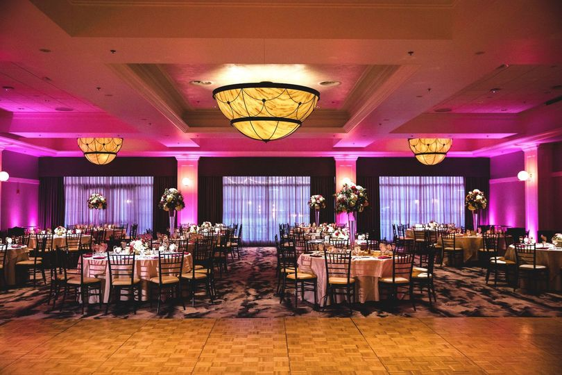 The Tiffany Ballroom at the Four Points by Sheraton Norwood