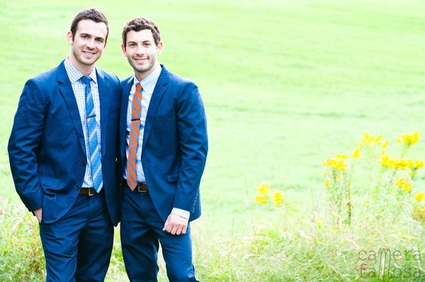 A beautiful Wedding Day for Rob & Zack. Captured moments by Camera Famosa PhotographyDebbie @ Ruby...