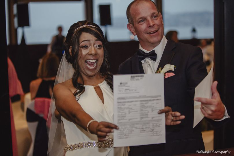 It's offical-Marriage License