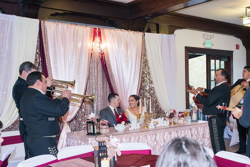 Mariachi Band Srenading