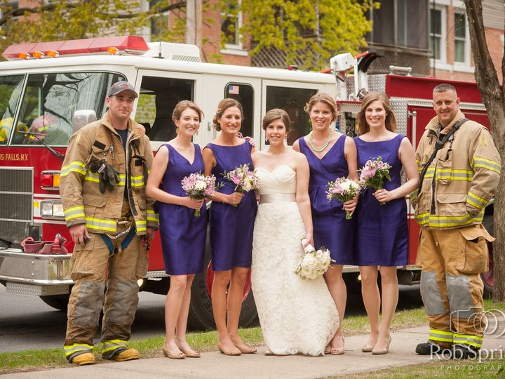 Tmx 1489125811863 Bridal Party With Firemen Tacoma wedding planner