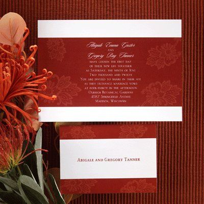 Tmx 1358705786618 Valen9 Garfield wedding invitation
