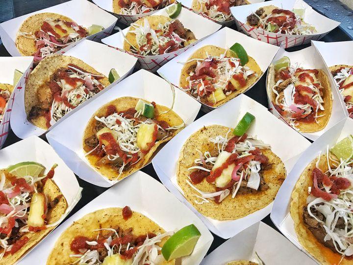 Roasted Pork Al Pastor Tacos