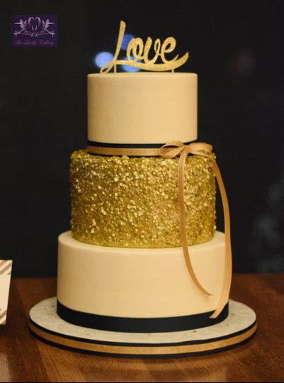 The Lucky Cakery - Wedding Cake - Stephens City, VA - WeddingWire