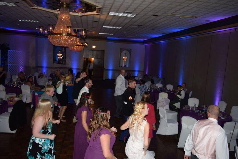 Dance floor getting busy