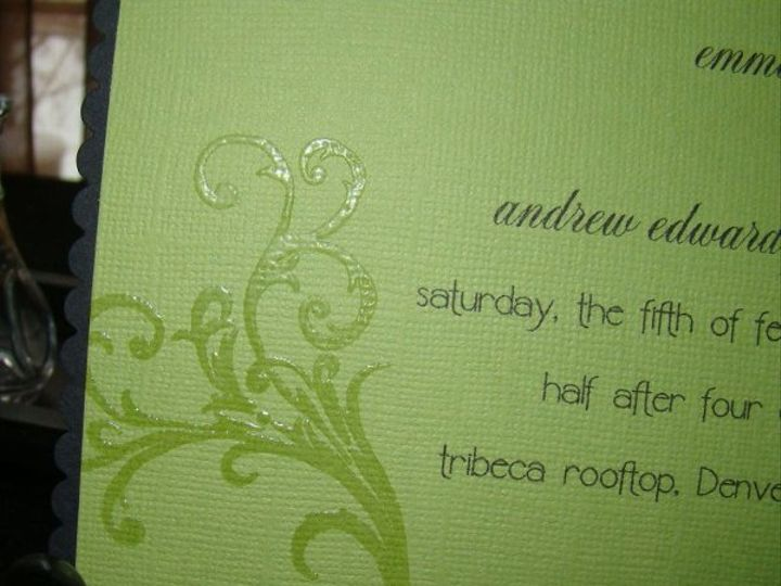 Tmx 1269151964131 DSC05263 Denver wedding invitation