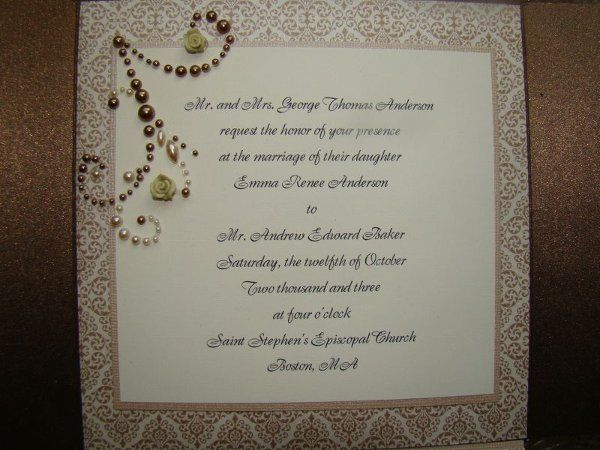 Tmx 1274589555409 DSC05537 Denver wedding invitation