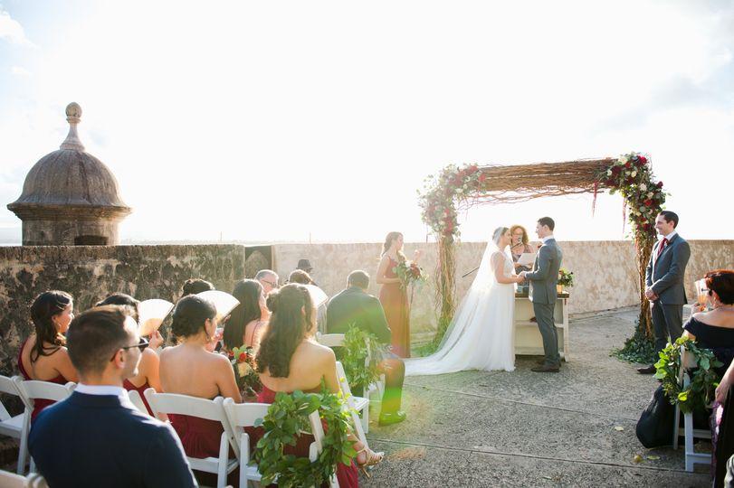 Old San Juan wedding