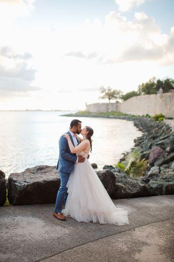 Old San Juan elopement