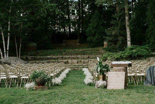 Camden Amphitheater Ceremony