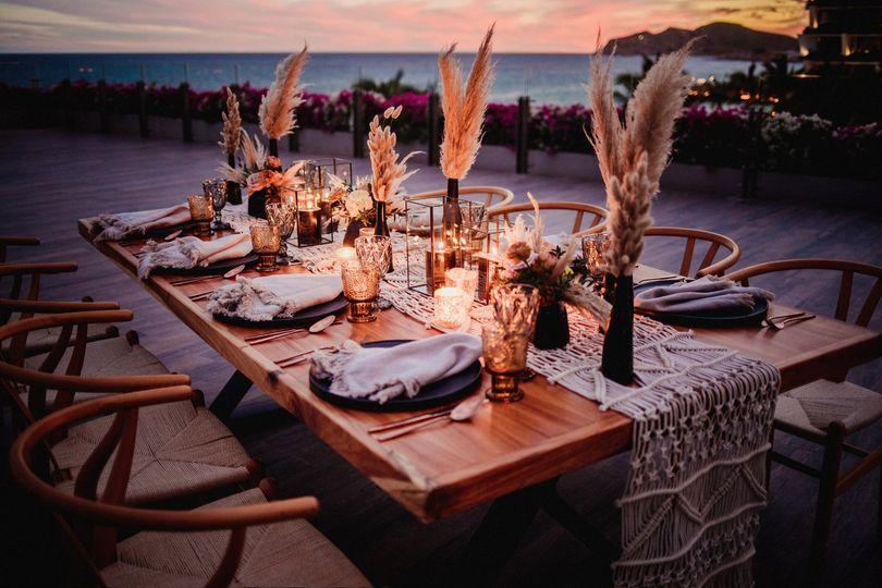 Wedding Setup Grand Velas