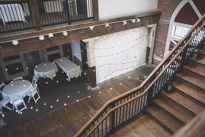 centennial barn dance floor from loft