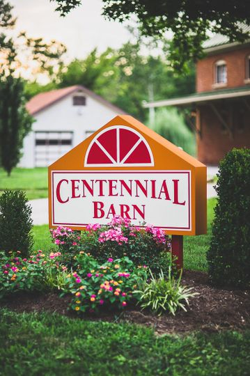 centennial barn sign
