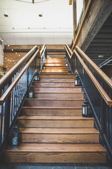 centennial barn stairs