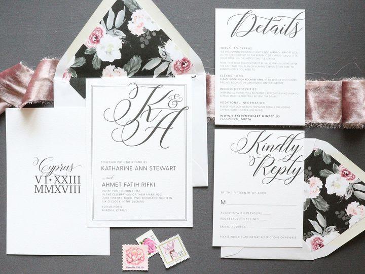 Tmx 1532444284 3a5f2727c3d6d934 1532444283 39b3401794ad9729 1532444282701 5 Simple Wedding Inv The Colony, Texas wedding invitation