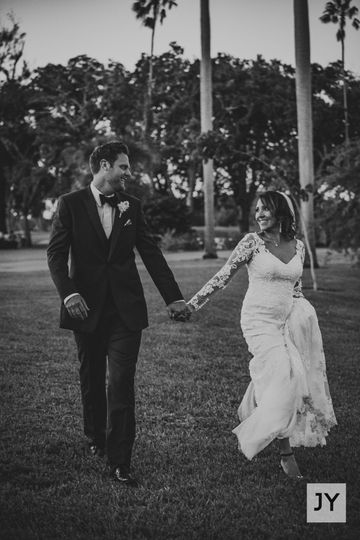 Walking to happily ever after!