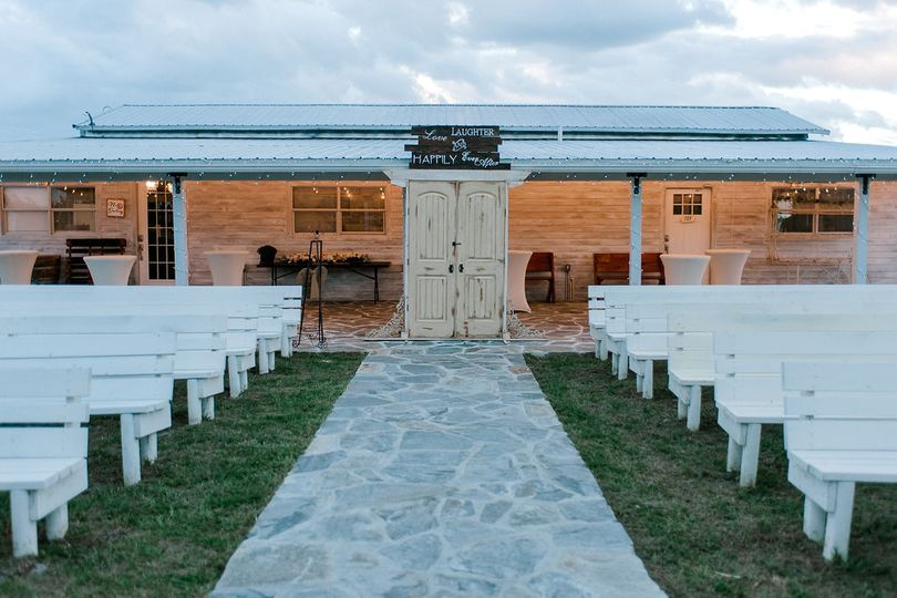 Whimsical Ceremony Site