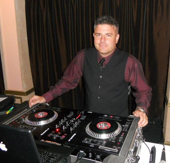 DJ Mike Mello ready to spin.