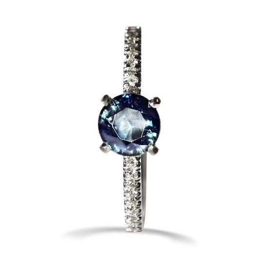 The Lukot - sapphire ring