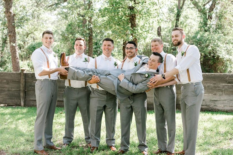 Groom and His Guys