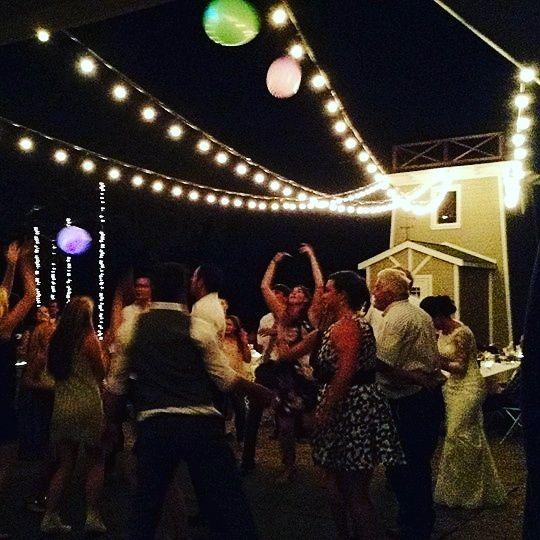 Night reception, Paso Robles