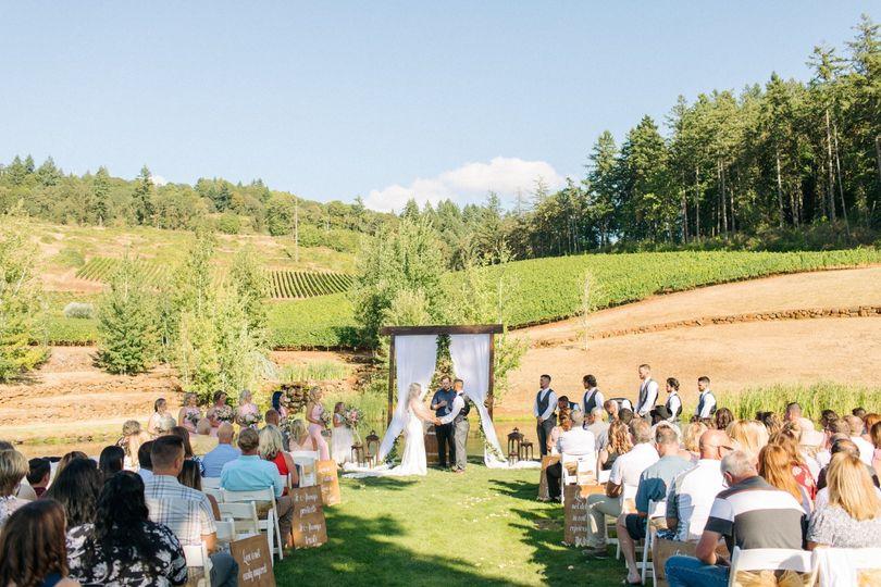 Legacy Lake Ceremony