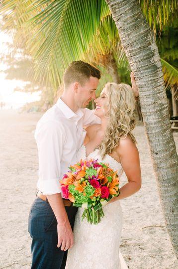 Exotic destination nuptials