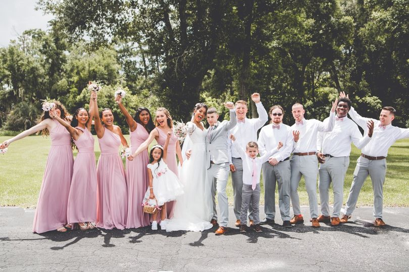 Katherine + AndrewBridal Party