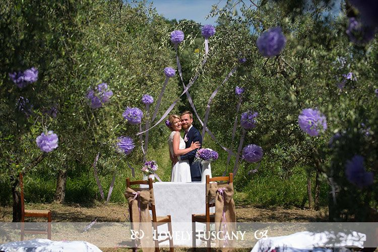Lovely Tuscany - wedding in under the Tuscany sun