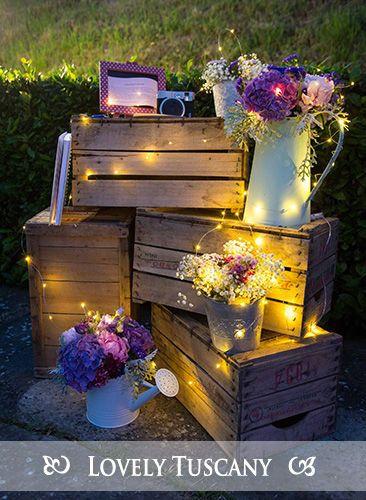 Lovely Tuscany - wedding decoration
