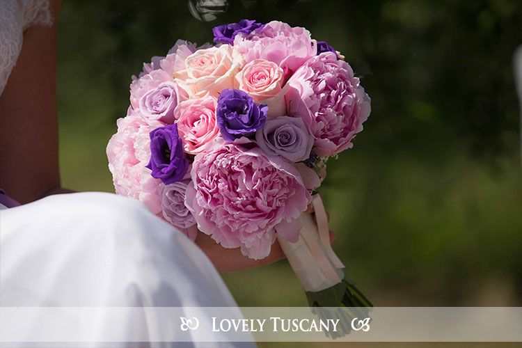 Lovely Tuscany - wedding bouquet