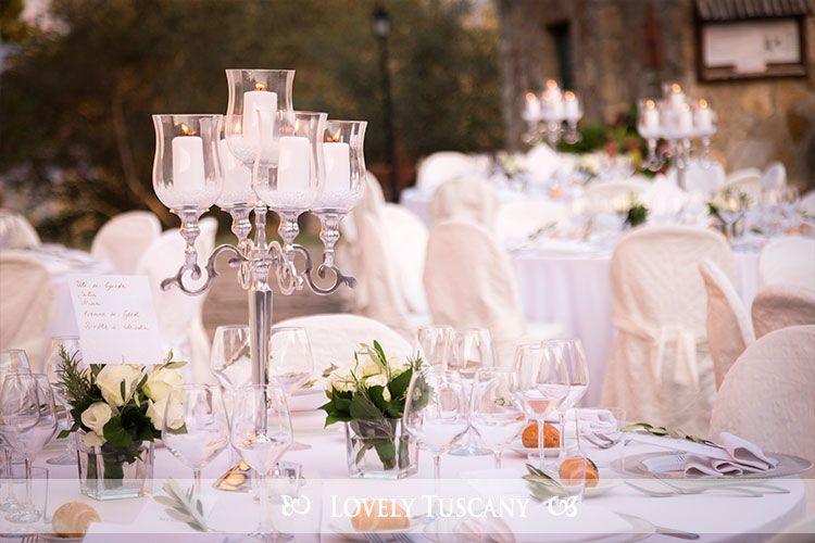 Lovely Tuscany - wedding in Tuscany reception al fresco