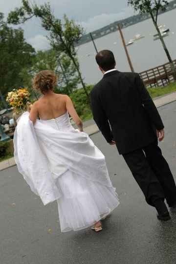 Wedding on Peaks Island, ME