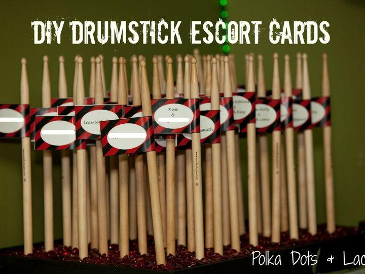 Tmx 1375492243036 Drumstick Escort Cards Fond Du Lac wedding planner