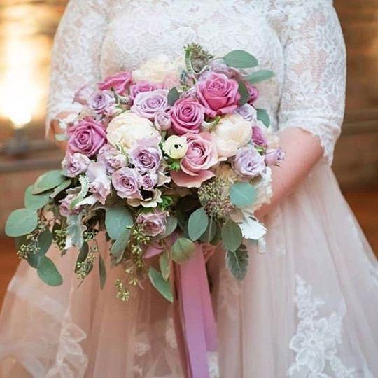 Brittney Kee Floral Design - romantic bouquet