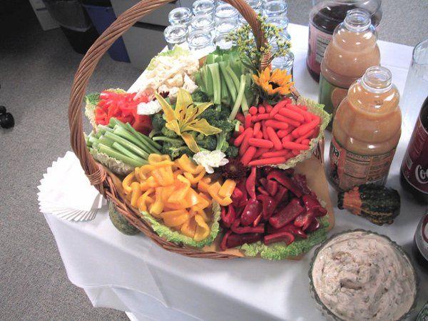 Tmx 1229264720115 VeggieBasket1.0 Bridgeport, CT wedding catering