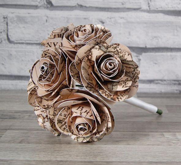 Map bouquet