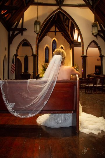 Sitting in the pews