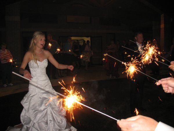 20 inch gold wedding sparklers