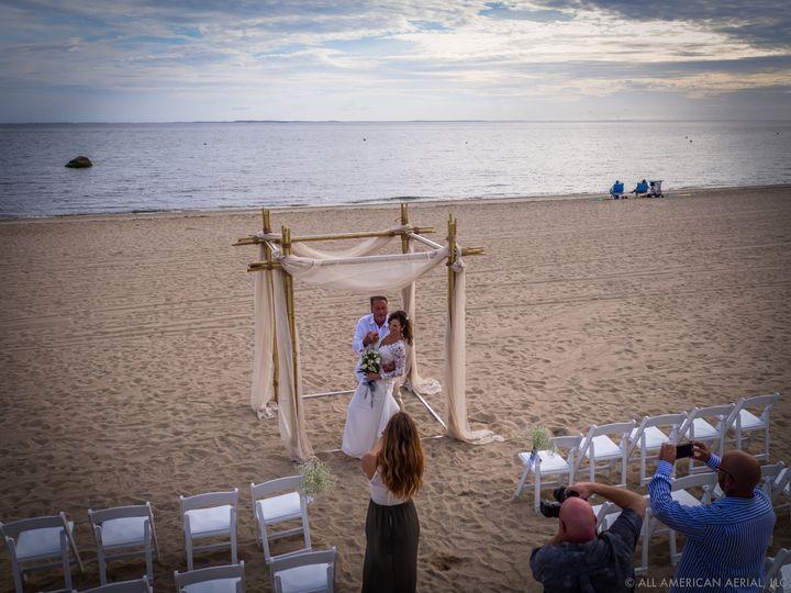 Elevated wedding photography