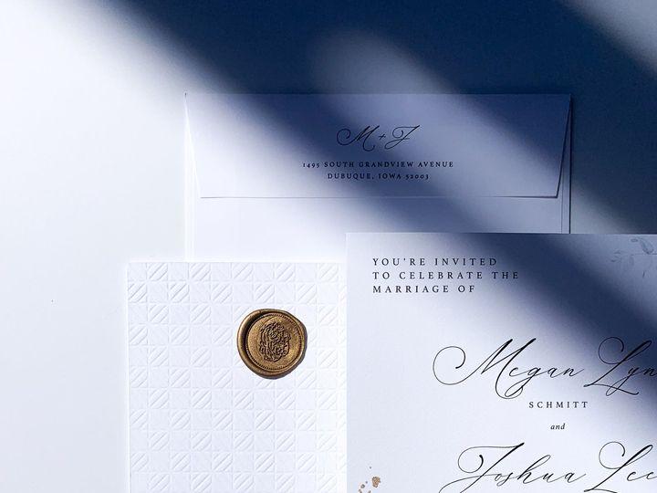 Tmx Img 3588 51 1974833 159527613843717 Dubuque, IA wedding invitation