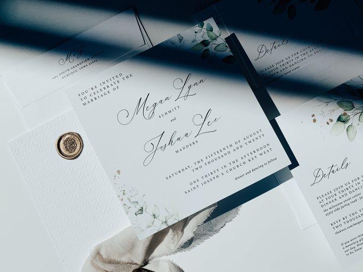 Tmx Img 3596 51 1974833 159527616231768 Dubuque, IA wedding invitation
