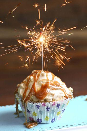 cupcake sparkler