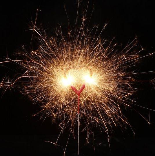 heart shapped sparkler 3