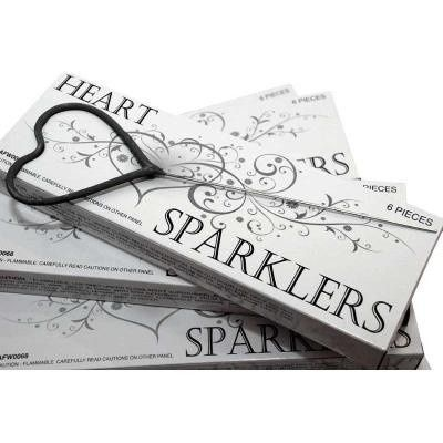 Tmx 1457548856388 Heart Shapped Sparkler Miami Beach wedding favor