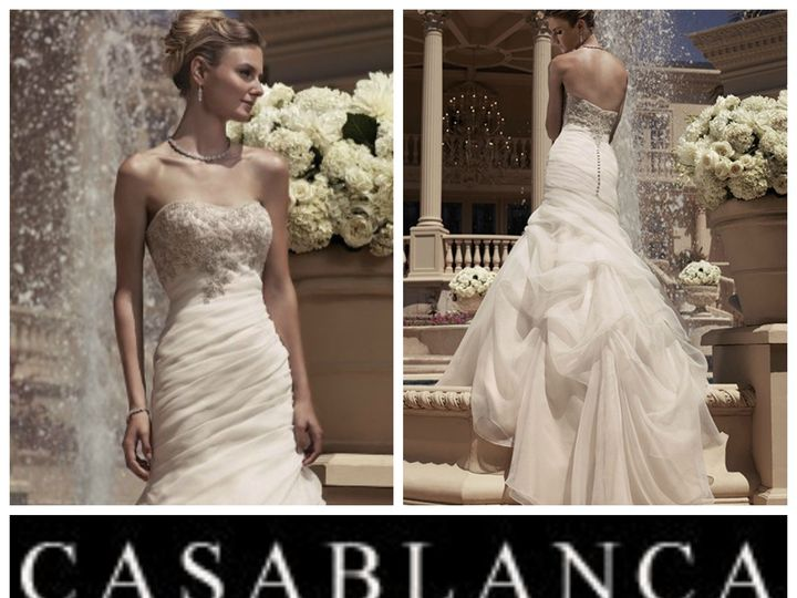 Tmx 1385747955223 Casablanca210 Ridgefield wedding dress