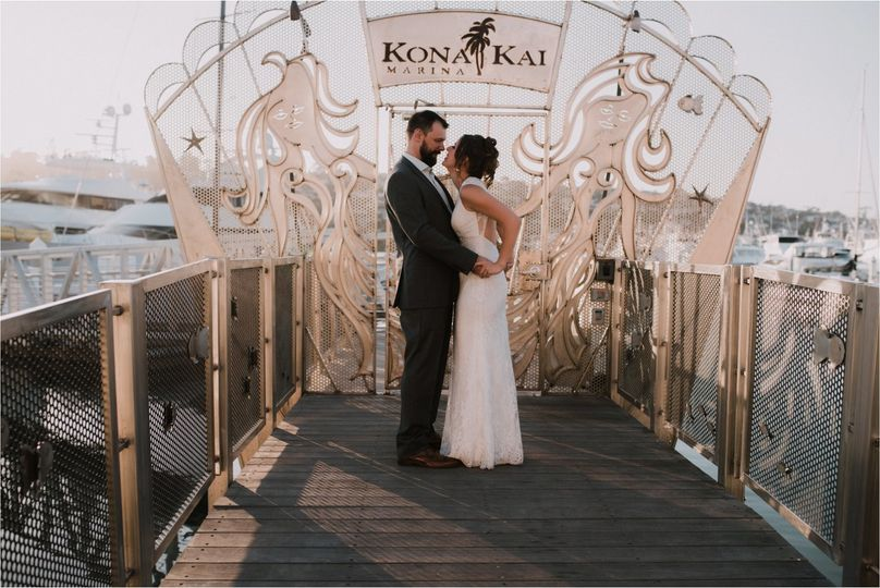 Kona Kai beach wedding in San Diego