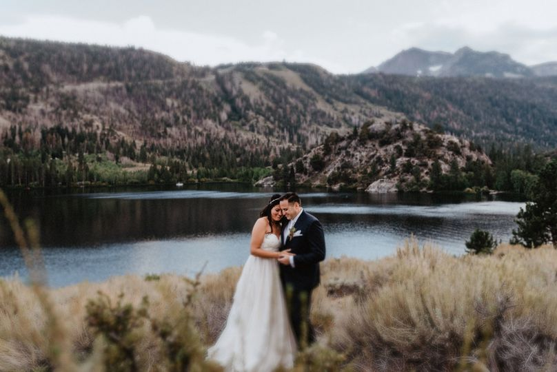Victory Lodge Wedding in June Lake - Bride and Groom Portraits my favorite part of the day!